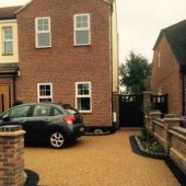 Double front doors extension and groundworks