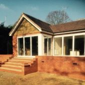 Brick step paving and extension